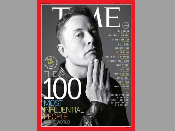 马斯克登上time杂志