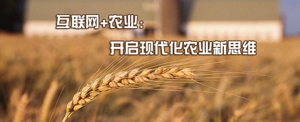 """""""互联网 农业""""我们能跟美日等国学什么?"""